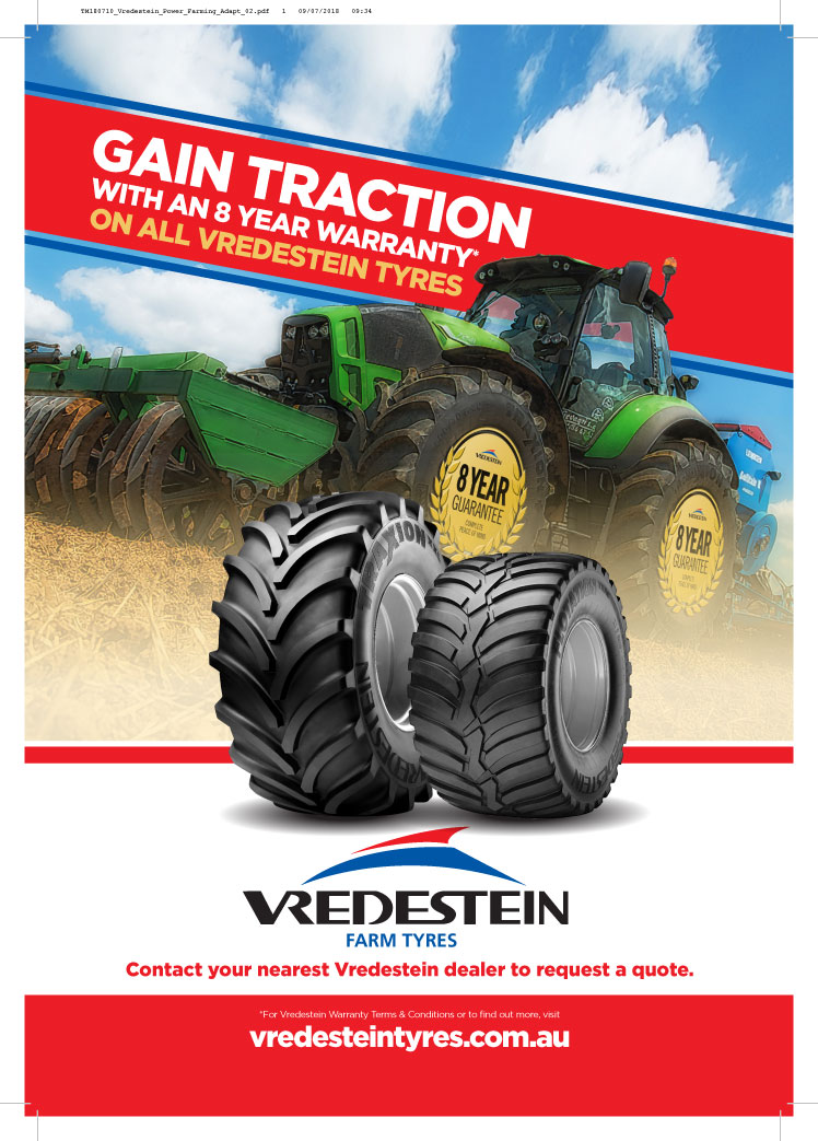Vredestein 8-year warranty