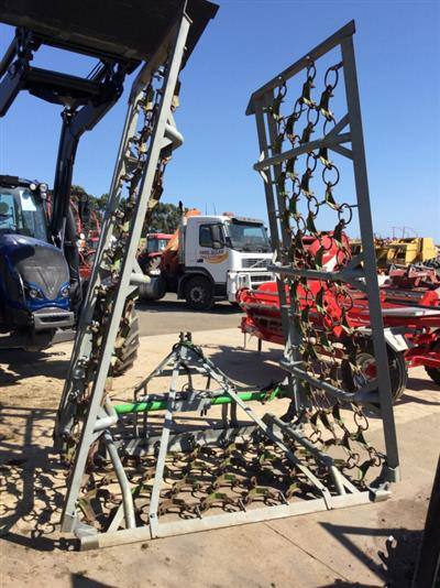 Zocon ZOCON 8M GRASSLAND HYD HARROWS Harrows