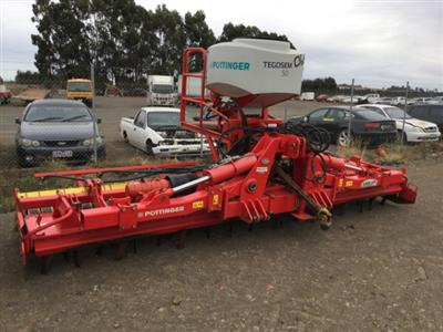 Pottinger Lion 5000 LION 5000 + TEGOSEM 500 SEEDER Power Harrows