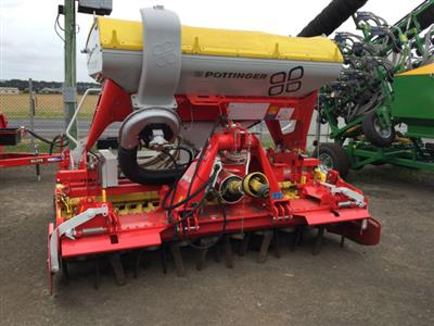 POTTINGER PHARROWS+AIR SEEDER Culti Seeders