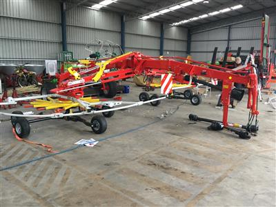 Pottinger TOP 842C POTTINGER TOP 842C RAKE Rakes/Tedder