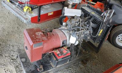 Photo 1. Used Perkins 20kva Generator