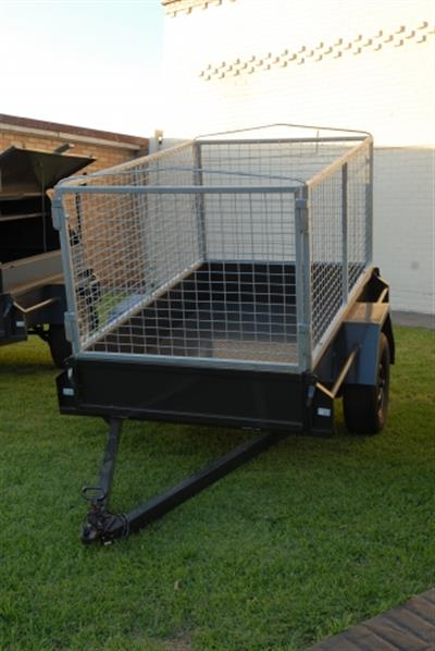 Guidolin Agrimac Trailers with Cages