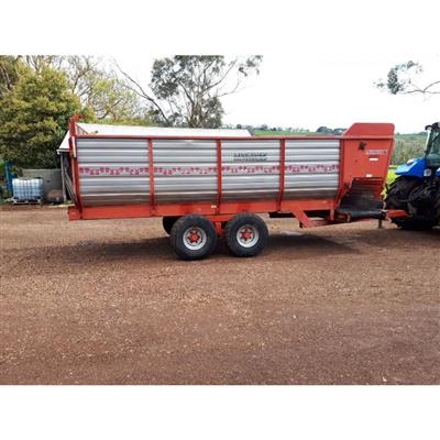 PEARSON SD130 SILAGE FEEDOUT CART