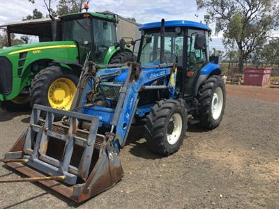 New Holland TD65D tractor