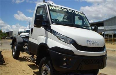 Iveco Daily 55170 4x4 Cab Chassis truck