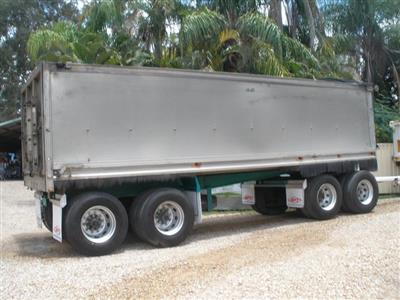 SAWTELL & SONS 4 AXLE trailer