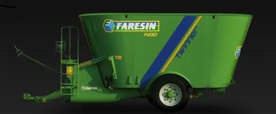 Photo 1. Faresin Twinner 1400 feed mixer