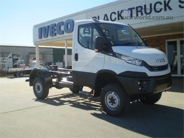 Photo 1. Iveco Daily 55s17W 4x4 Cab Chassis truck