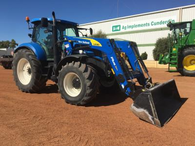 Photo 1. New Holland T7070 tractor