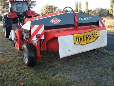 KUHN FC353GC mower conditioner