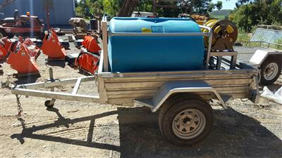 Fire Fighting Trailer with Honda Motor