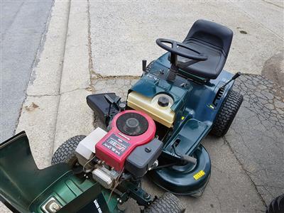 Used Victa Ride On 4015hx Lawn Mowers Mahindra Sa