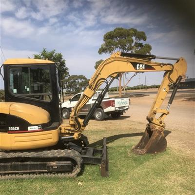 CATERPILLAR 305E CR excavator