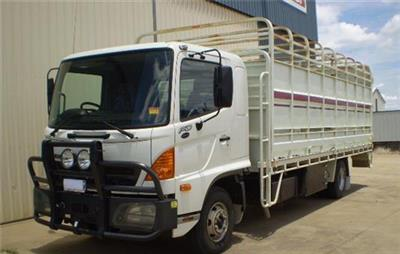 Photo 2. Hino Stock Crate truck