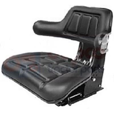 Kubota Universal Suspension Wrap Around Seat in Black Replacement