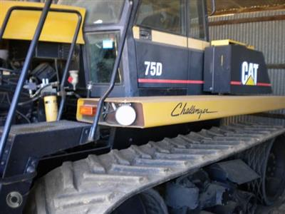 Photo 2. Caterpillar D75 tracked tractor
