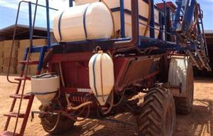 Photo 3. Case IH cotton picker chassis SP boomspray