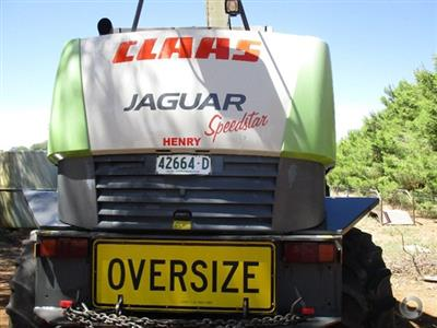 Photo 3. Claas 870 Forage harvester