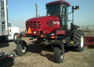 Photo 3. MacDon M205 windrower