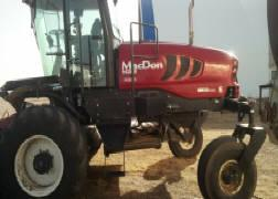 Photo 4. MacDon M205 windrower