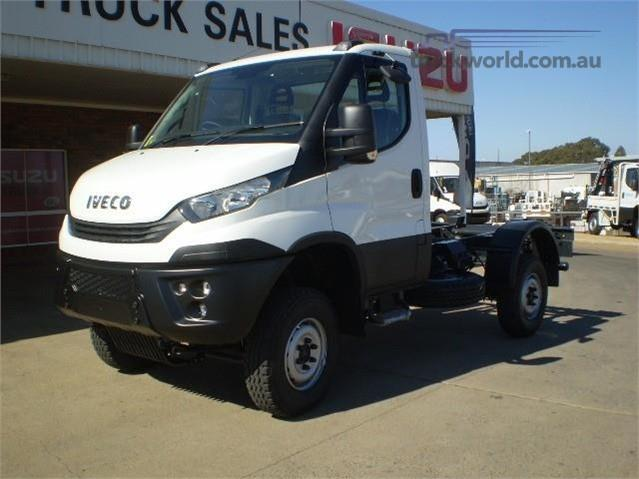 Photo 3. Iveco Daily 55s17W 4x4 Cab Chassis truck