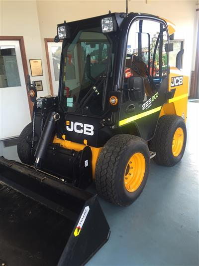 JCB 225 Wheeled Skid Steer loader