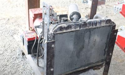 Photo 4. Used Perkins 20kva Generator